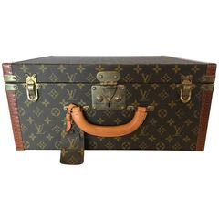 Louis Vuitton Monogram Hard Sided Suitcase. No. 912291