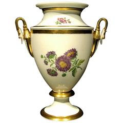 A Fine Neoclassical Inspired Hand-Painted Porcelain Ice Pail, France Circa 1870