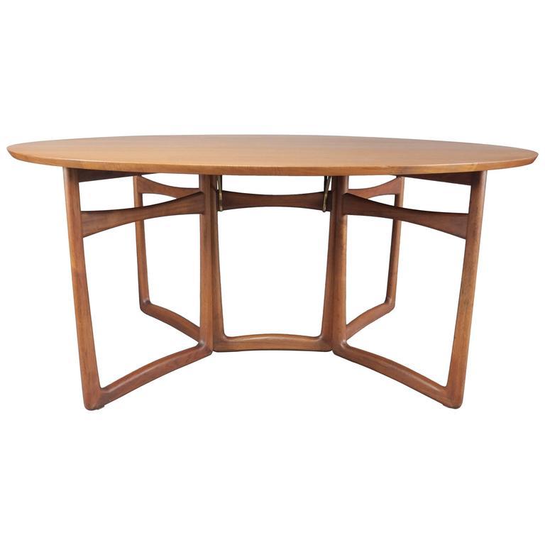 Danish Teak Dining Table by Peter Hvidt & Orla Molgaard Nielsen for France & Son 1