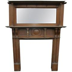 Arts & Crafts Oak Fire Surround by Shapland and Petter