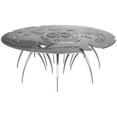 Chronometry Coffee Table, Contemporary Limited Edition Coffee Table