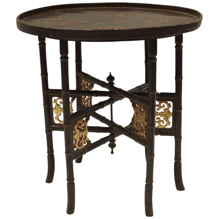 Dessert Table in Chinese Lacquer