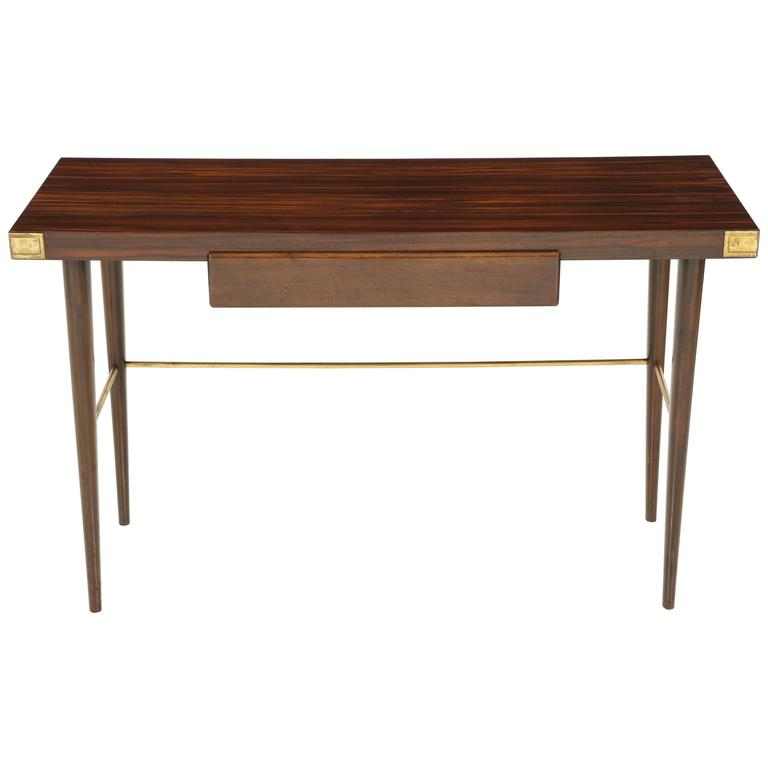 Walter Charak Macassar Ebony Desk For