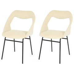 Pair of Louis Paolozzi Side Chairs