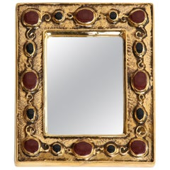 Jeweled François Lembo Mirror