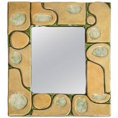 Jeweled Mirror by Mithé Espelt