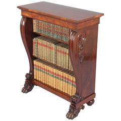 George IV Period Mahogany Small Bookcase