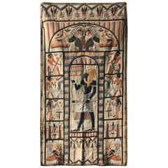 'Egyptian' Design Cotton Applique Wall Hanging
