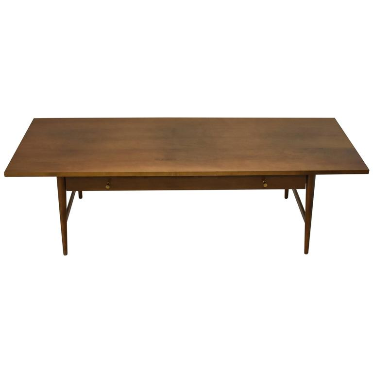 Mid-Century Modern Coffee Table by Paul McCobb Planner Group Winchendon