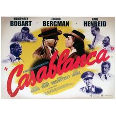 """""""Casablanca"""" Film Poster, 2007"""