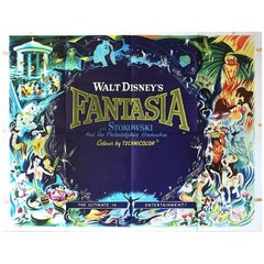 """""""Fantasia"""" Film Poster, 1960"""