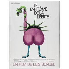 """""""Le Fantôme De La Liberté"""" Film Poster, 1974"""