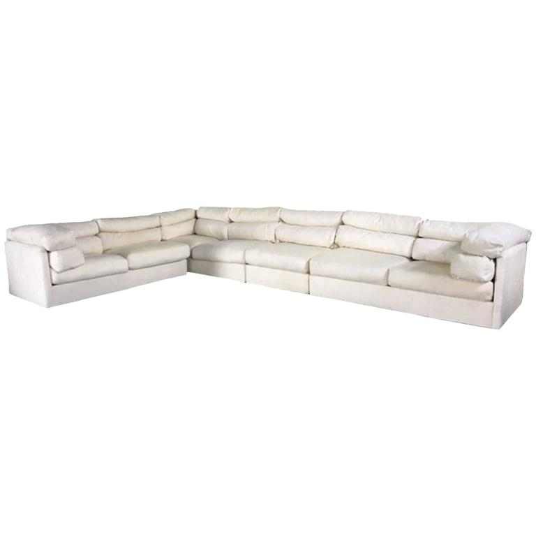 Monumental Sectional Sofa by Directional
