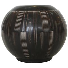 Nils Thorsson Earthenware Vase for Alumina, Denmark, 1940s
