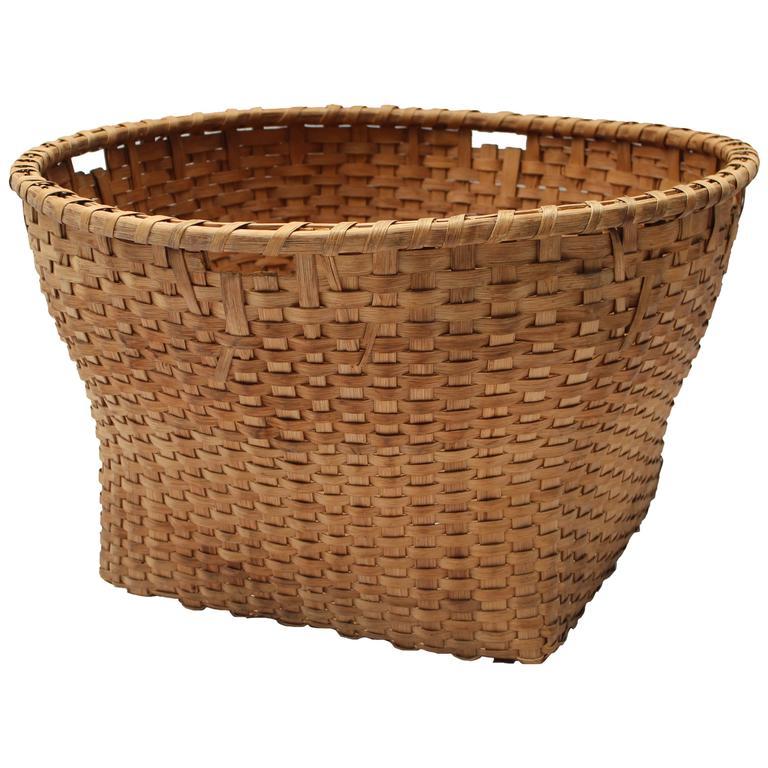 Large 19th Century Basket