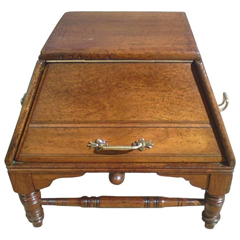 Dr Christopher Dresser for Benham & Froud A Rare Aesthetic Movement Oak Coal Box For Sale