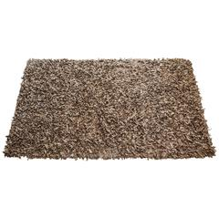 Hand-Loomed Suede Area Rug by Jack Lenor Larsen