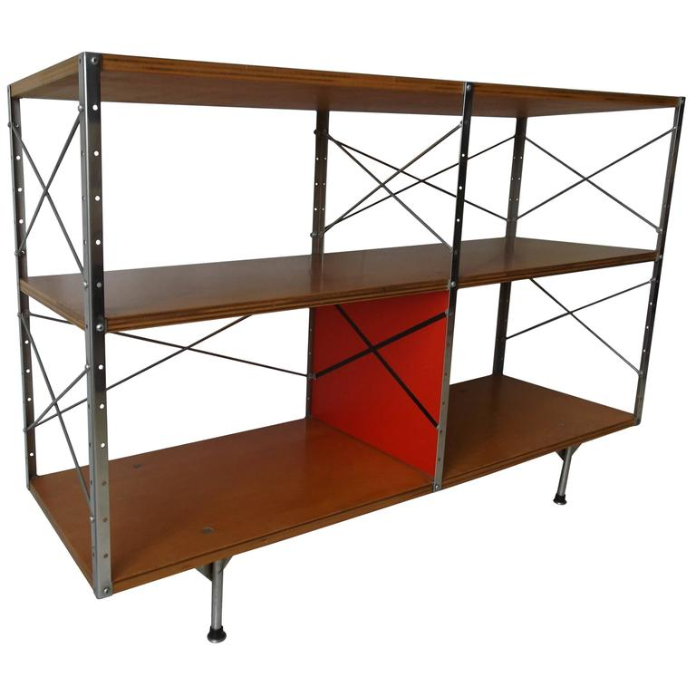 Original 1950s Charles Eames ESU Storage Unit Shelf for Herman Miller For Sale