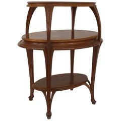 French Art Nouveau Etagere Table