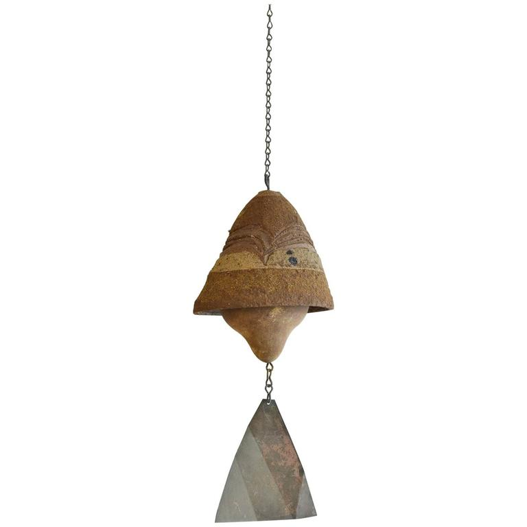 Vintage Ceramic Wind Bell by Paolo Soleri, circa 1960
