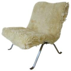 Poul Kjaerholm Danish PK 22 Lounge Chair