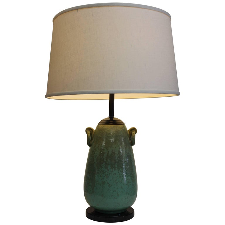 Fulper Ceramic Lamp