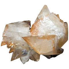 Calcite and Sphalerite Cluster