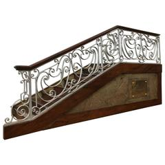 French Stair Case Model, circa 1920s