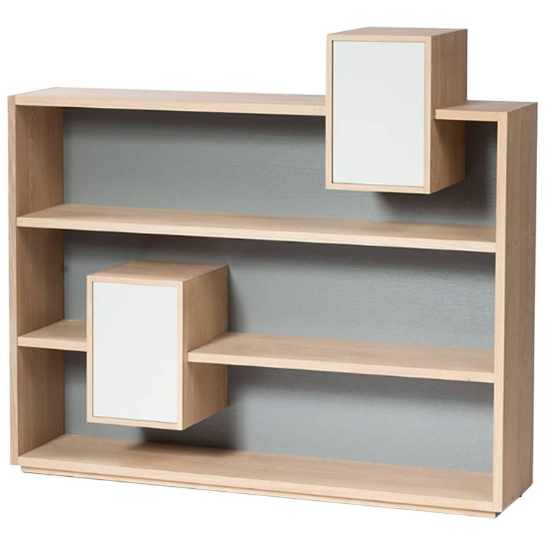 Functional Shelve in Solid French Raw Oak