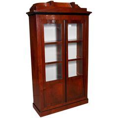 Library / Display Cabinet in Biedermeier Style