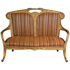 Very Nice Sofa in the French Art Nouveau Style