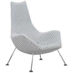 Rare armchair in the manner of Ernest Race, Race Furniture, UK 1950s