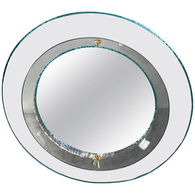 Round Glass Mirror by Studio Rida