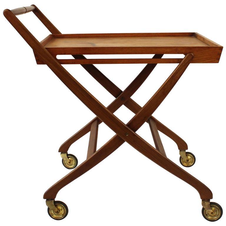 Danish Folding Bar Cart 1
