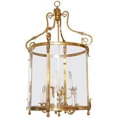 Superb Solid Brass Chandelier Lantern Style