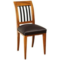 Austrian Walnut Side Chair
