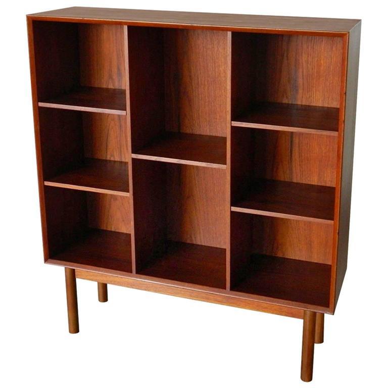 Peter Hvidt & Orla Mølgaard-Nielsen Teak Display Cabinet Bookcase