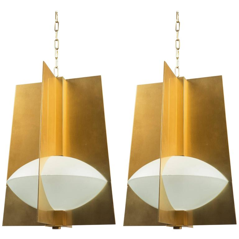 Pair Of Lanterns France 1960s At 1stdibs