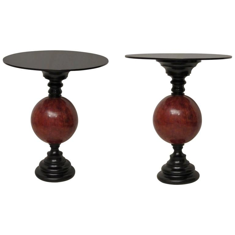 couple of art deco side table italy 1940 for sale at 1stdibs. Black Bedroom Furniture Sets. Home Design Ideas