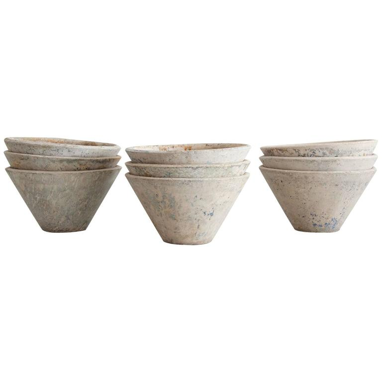 Willy Guhl Cone Planters