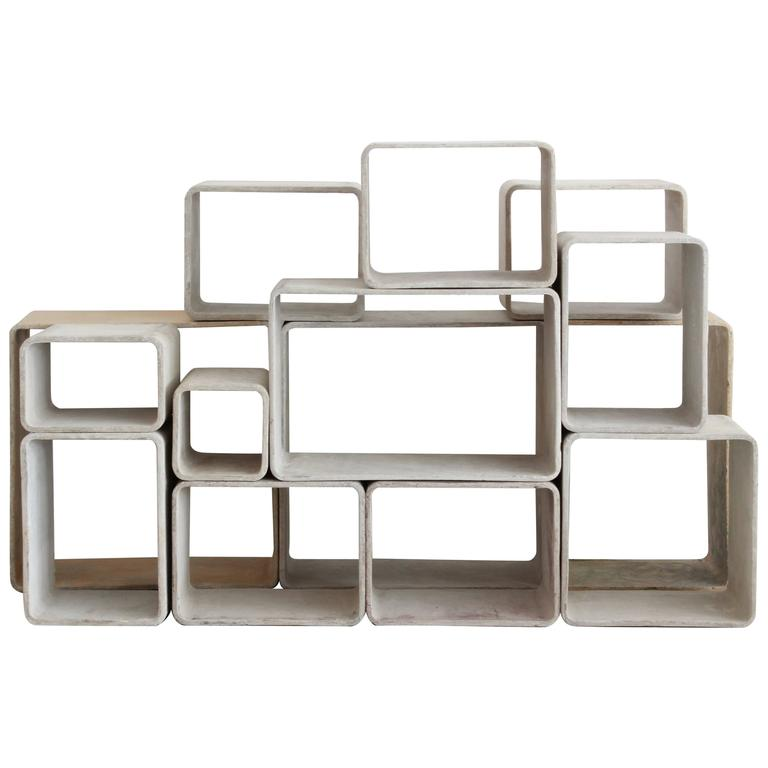 Willy Guhl Modular Cubes