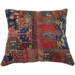 Patchwork Rug Pillow