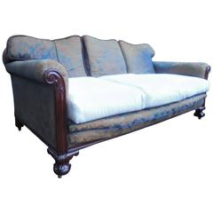 Good Shaped Antique Country House Sofa