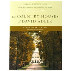 The Country Houses of David Adler by Stephen M. Salny, Signed First Edition