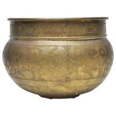 Large Brass Urn