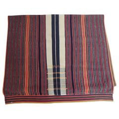 Vintage Rare Woven Stripes Filipino Textile Cloth