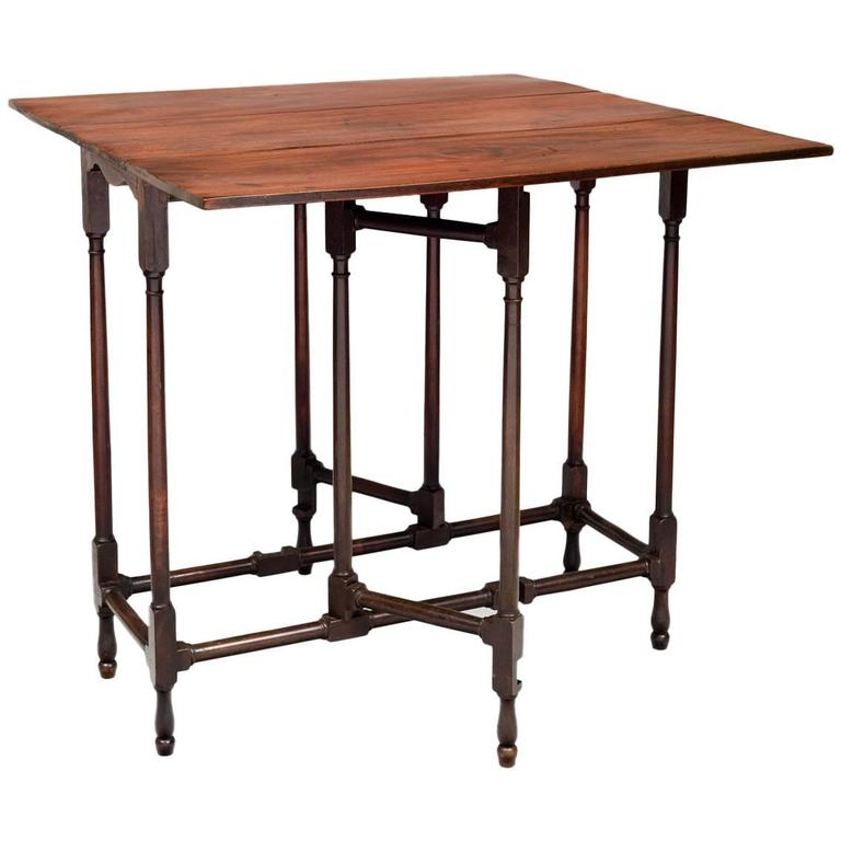 George III Mahogany Spider Leg Table