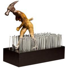 """Steven Michael Beck Sculpture """"The Agenda"""""""