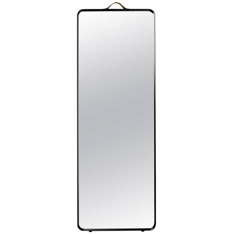 Rectangular Floor Mirror by Norm Architects, in Black