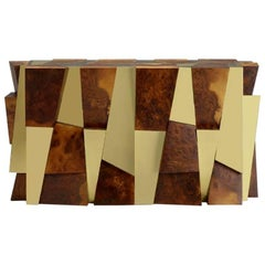 Cityscape Multifaceted Dining Console Table Paul Evans
